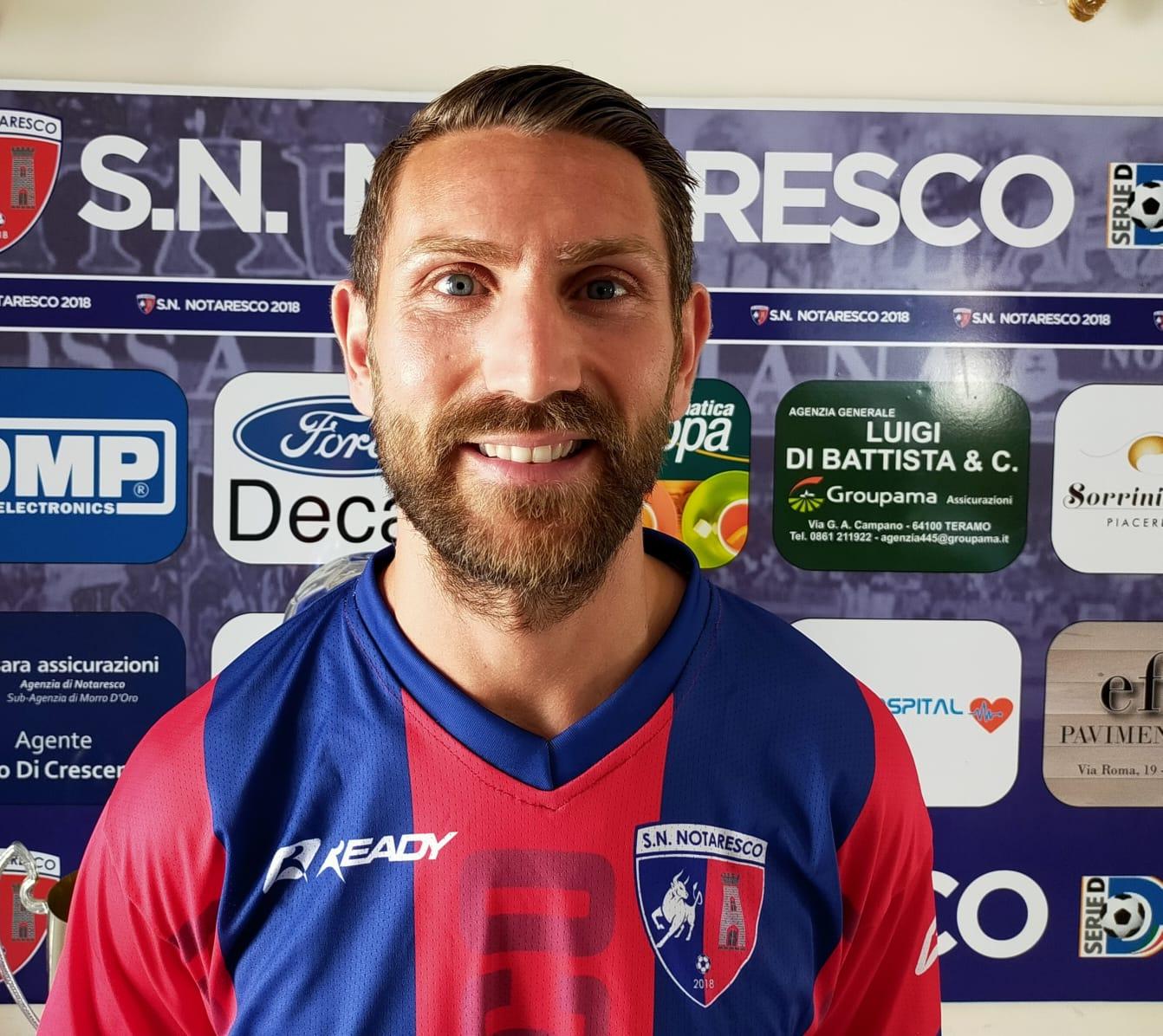 """Calcio D, Massimo Loviso al SN Notaresco: """"Grande piazza per vincere"""""""
