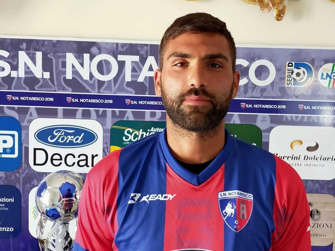 Calcio D, il SN Notaresco ingaggia il centrocampista Nicolas Pesce
