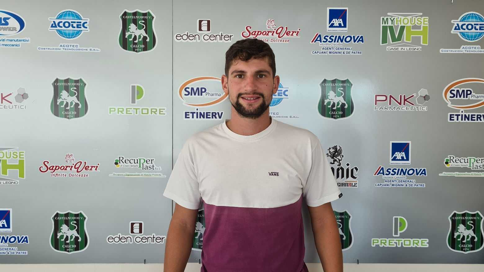 Calcio D, Stefano D'Egidio ancora nel Castelnuovo per la terza stagione