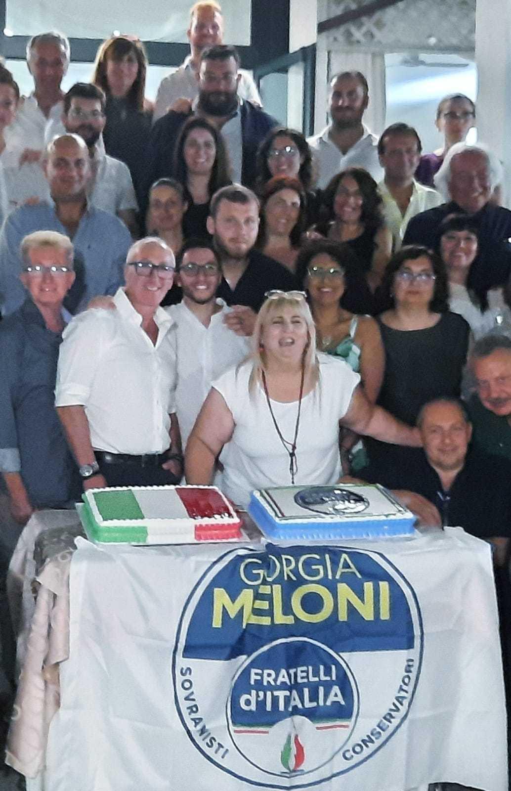 A Pineto la cena della Federazione provinciale teramana di Fratelli d'Italia