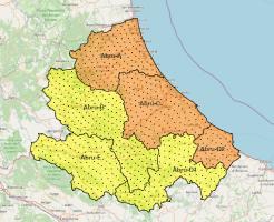 Maltempo, allerta arancione per l'Abruzzo