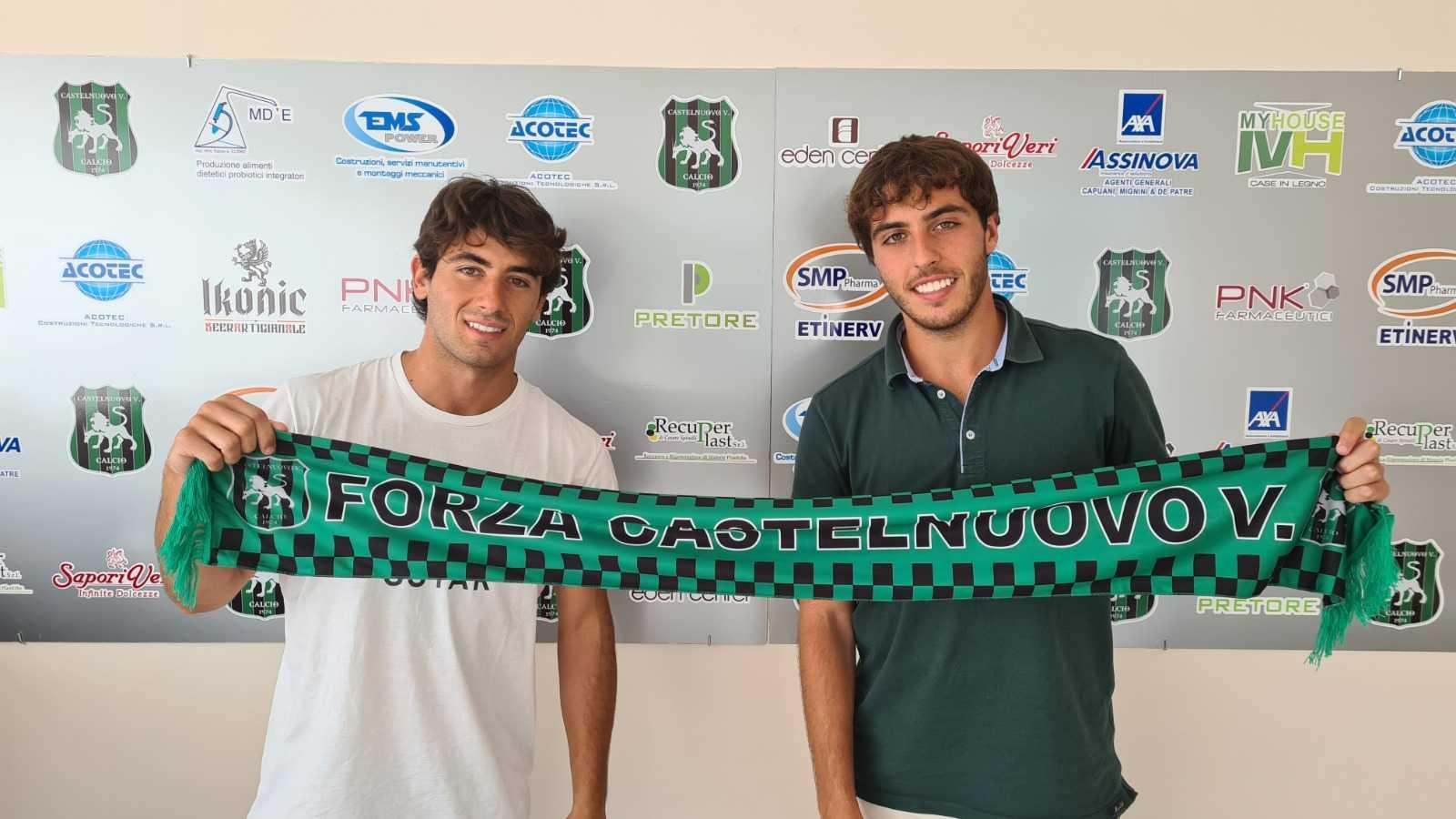 Calcio, Castelnuovo: ufficiali le conferme di Lorenzo e Leonardo Emili