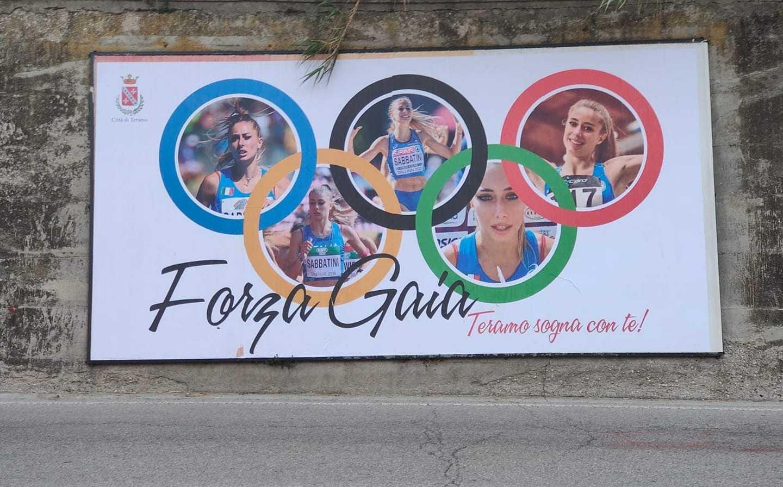 Olimpiadi, Teramo è a Tokyo e l'amministrazione lo ricorda grazie a Gaia