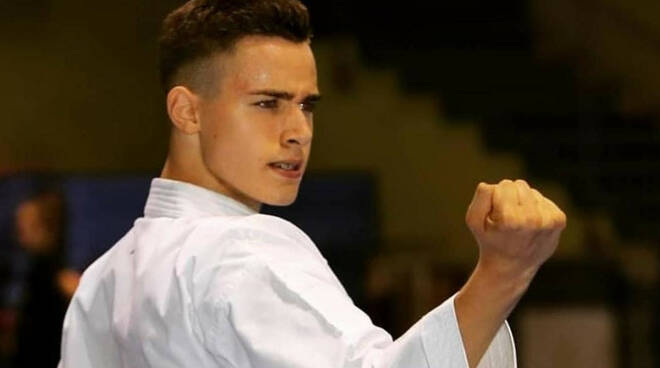 Karate, Federico Arnone in Nazionale per gli Europei di Tampere