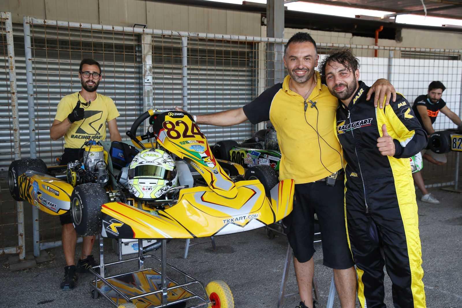 Il teramano Antonio Piccioni è campione italiano di Aci Karting nella KZN Under
