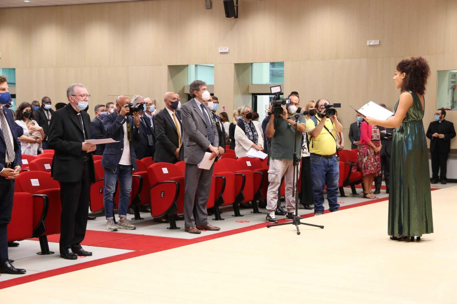 FOTO | IV Forum Internazionale del Gran Sasso, gli interventi di Parolin e Leuzzi ed il messaggio di Mattarella