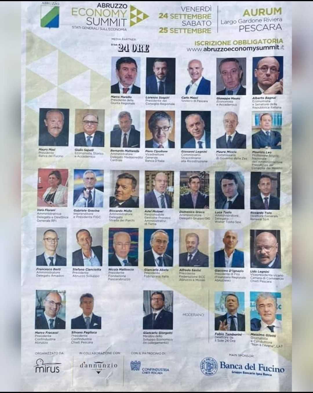 Abruzzo Economy Summit, Pezzopane (Pd): 31 relatori una sola donna, Marsilio si scusi e ripari