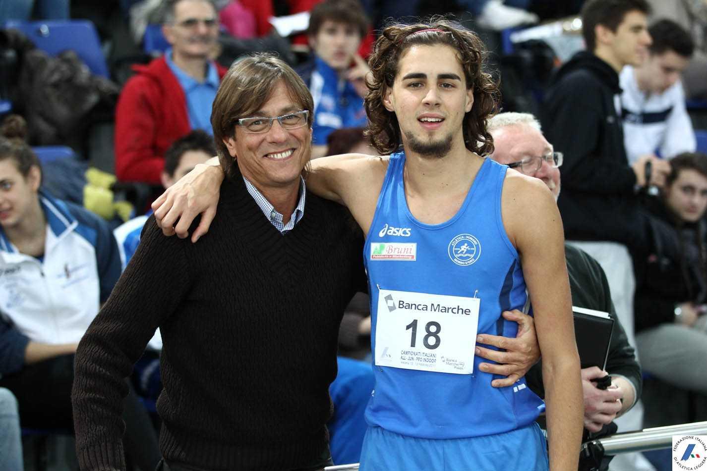 Atletica, papà Marco Tamberi vanto dell'Atletica Vomano