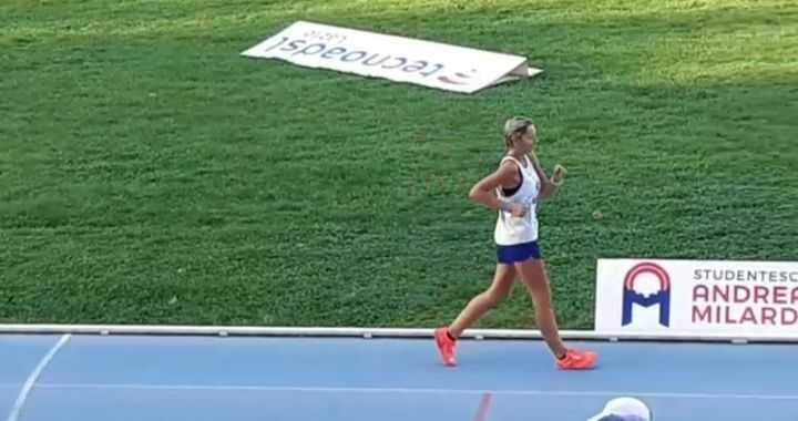 Atletica Vomano, debutto positivo per Angela Egi ai tricolori master di Rieti