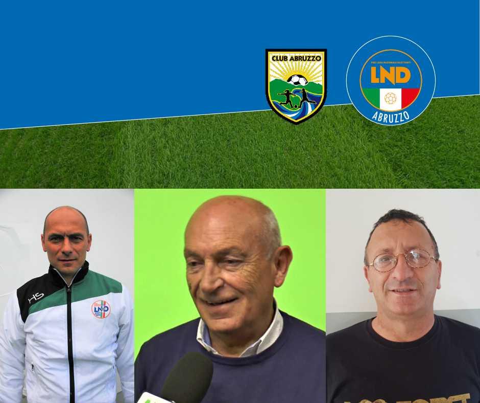 Calcio, il nuovo staff delle rappresentative abruzzesi
