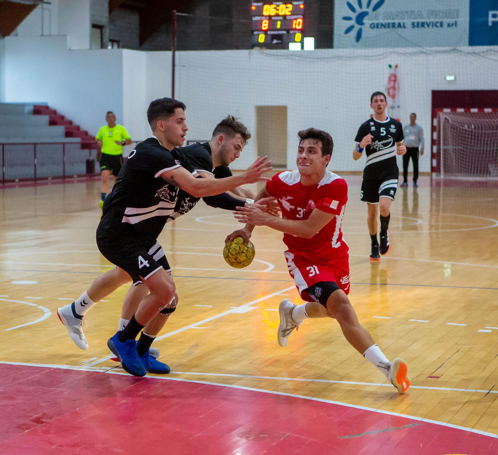 Handball A2/M, esordio non fortunato per il Teramo: passa Cingoli di misura (25-27)