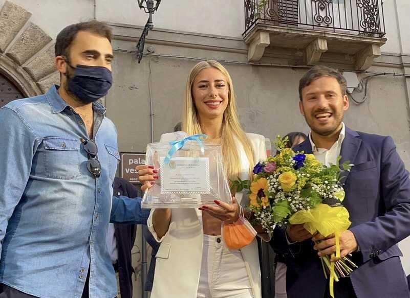FOTO   Campli, entusiasmo alle stelle per Gaia Sabbatini in BorGo Sport
