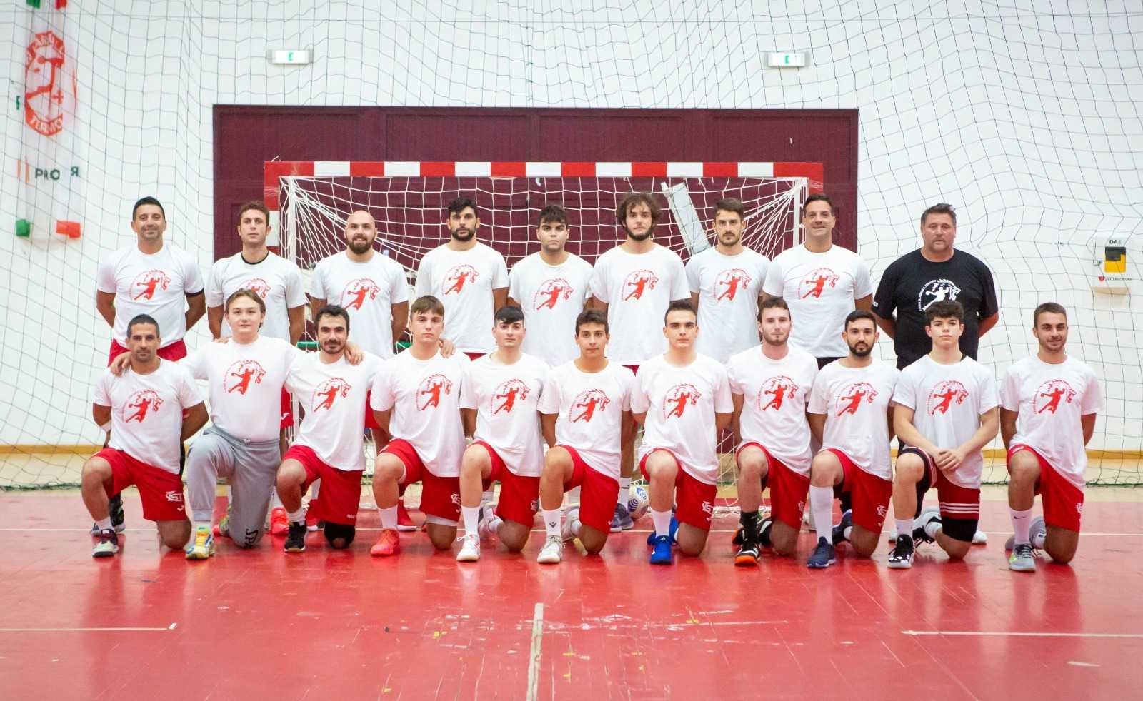 Maxi Coal Lions Handball Teramo pronta per la prima di campionato contro Cingoli