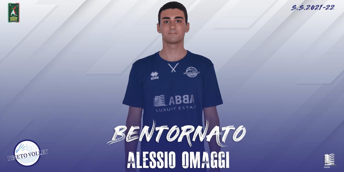 Volley, il giovane opposto Alessio Omaggi rinforza l'Abba