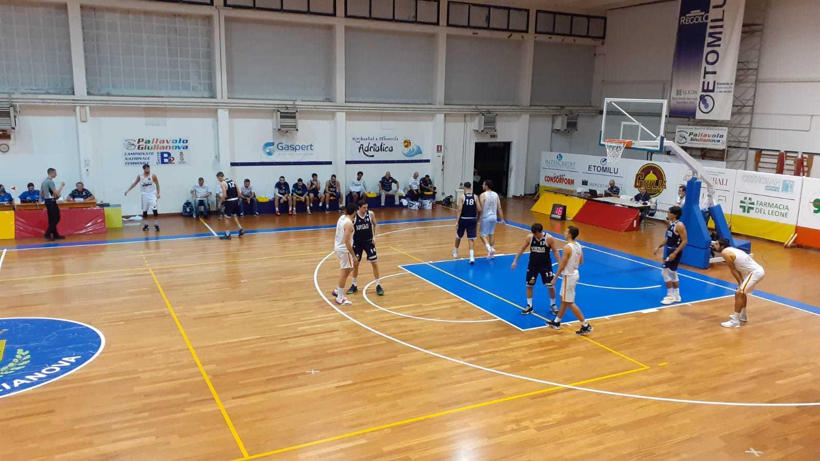 Basket B, esordio e prima vittoria del Giulia Basket (62-55) sul Civitanova