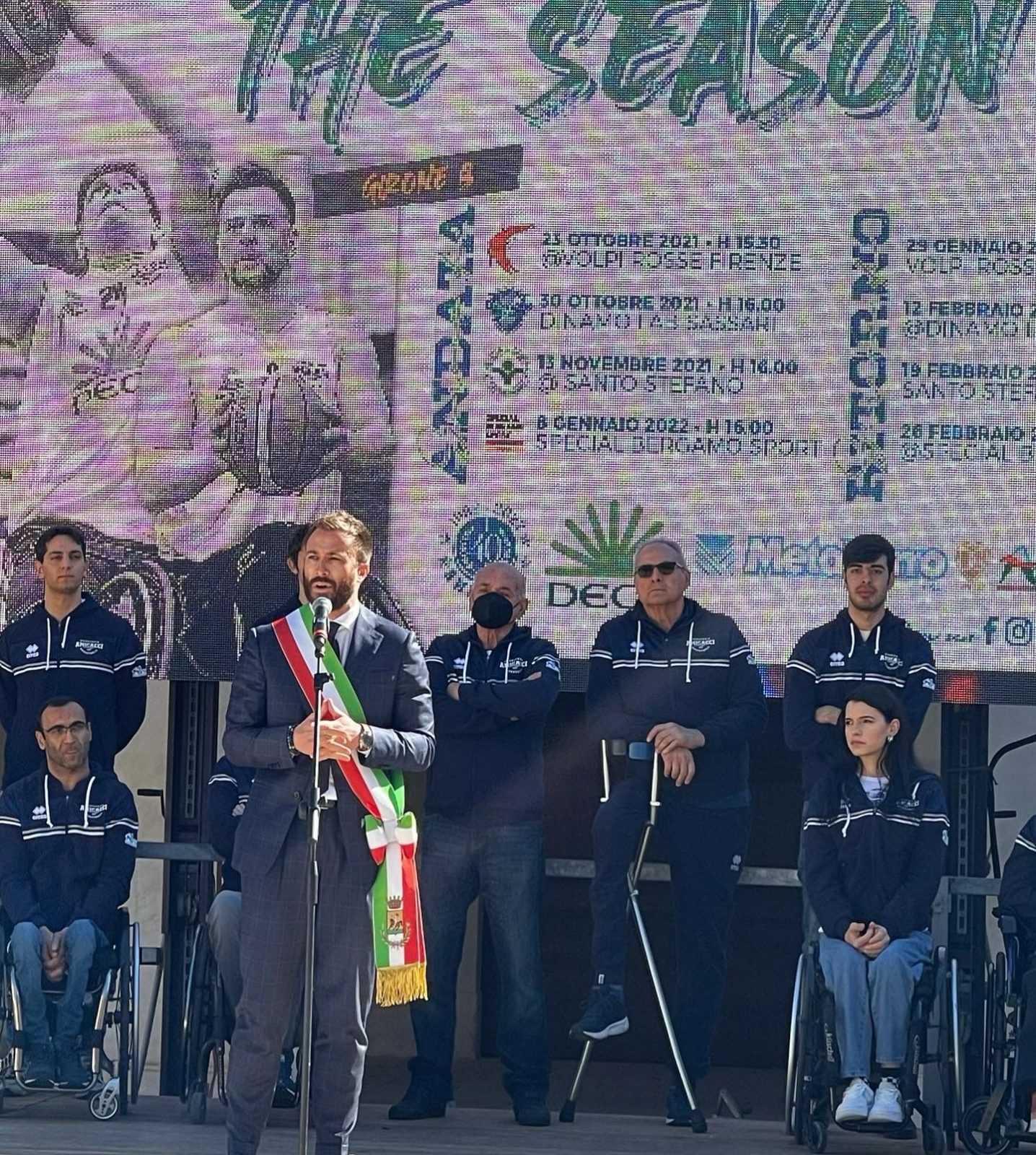 Amicacci Abruzzo, presentata in Regione la squadra giuliese di basket in carrozzina