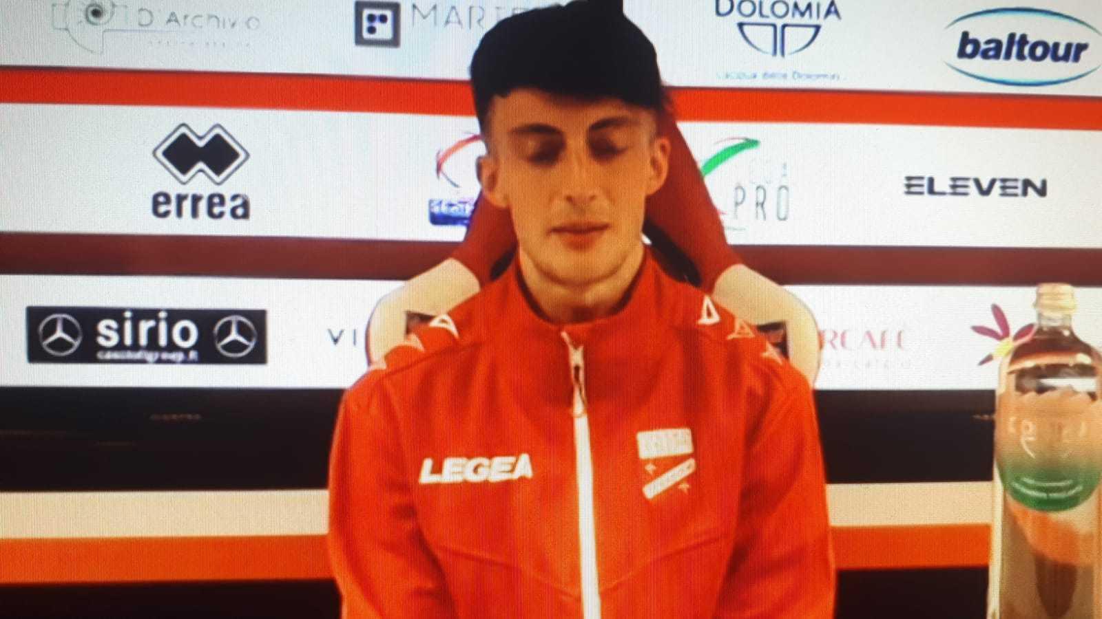 """VIDEO – Teramo Calcio, Francesco Rillo: """"Il mio è un piede da figlio d'arte…"""""""