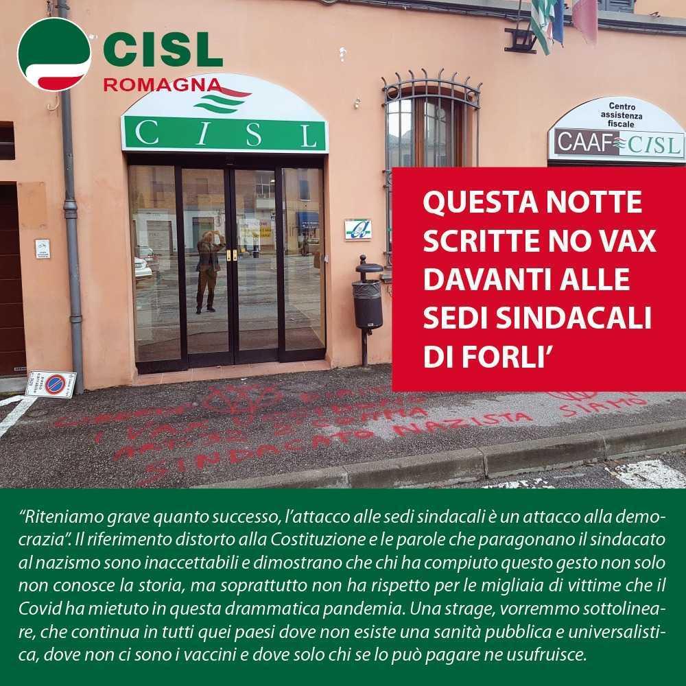 Attacco sede Cgil Roma, Fim-CISL Teramo  esprime solidarietà alla Collega di Categoria Natascia Innamorati e al sindacato