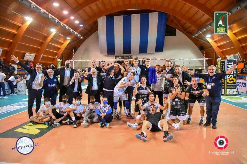 Volley A/3, bene l'Abba Pineto: è due su due dopo il 3-0 sul Pordenone