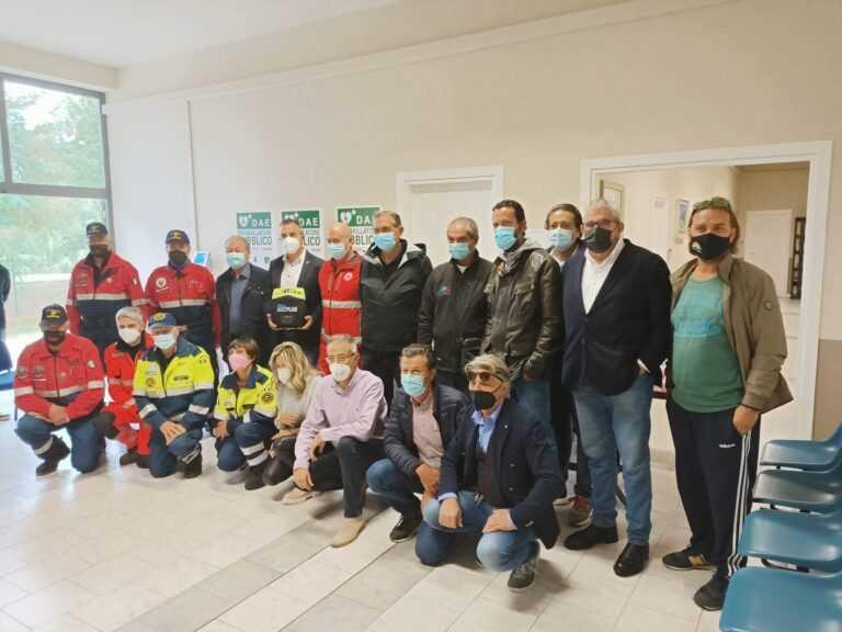 VIDEO   Alba Adriatica città cardio-protetta: nove defibrillatori per salvare la vita