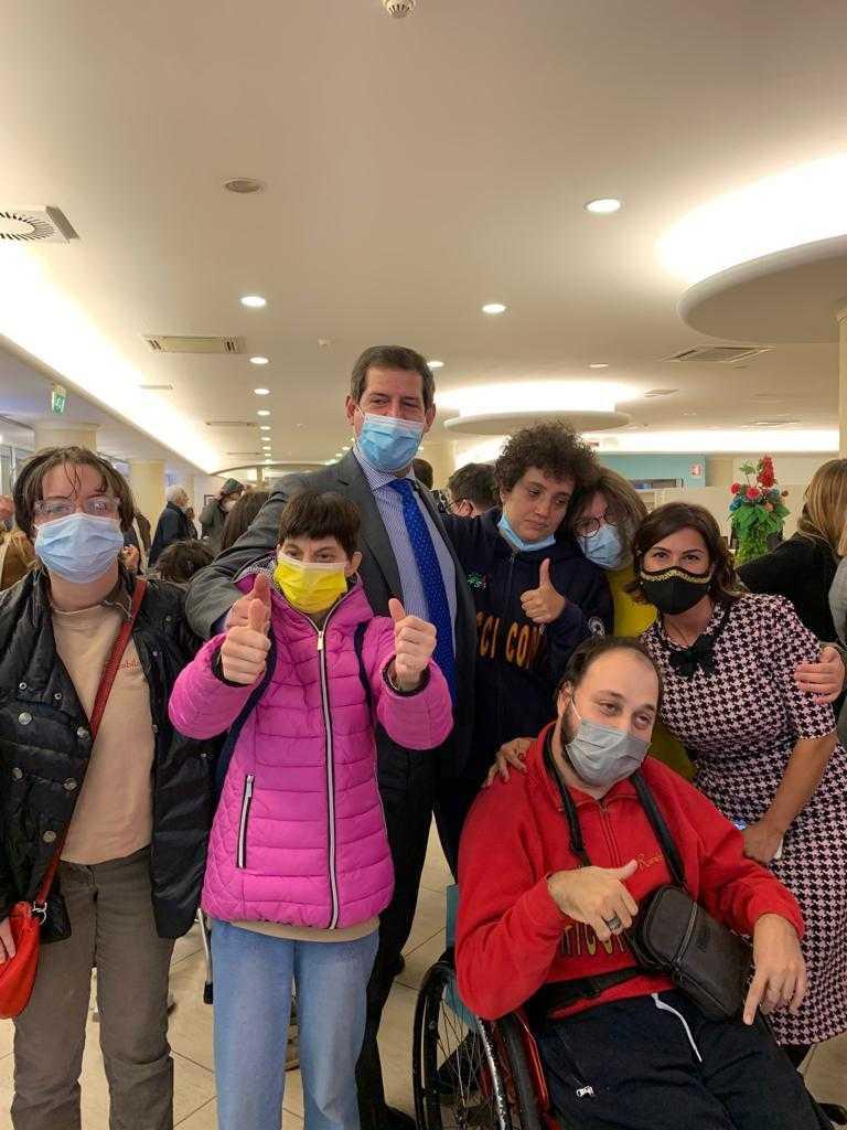 I ragazzi di Rurabilandia incontrano il ministro per la disabilità Erika Stefani