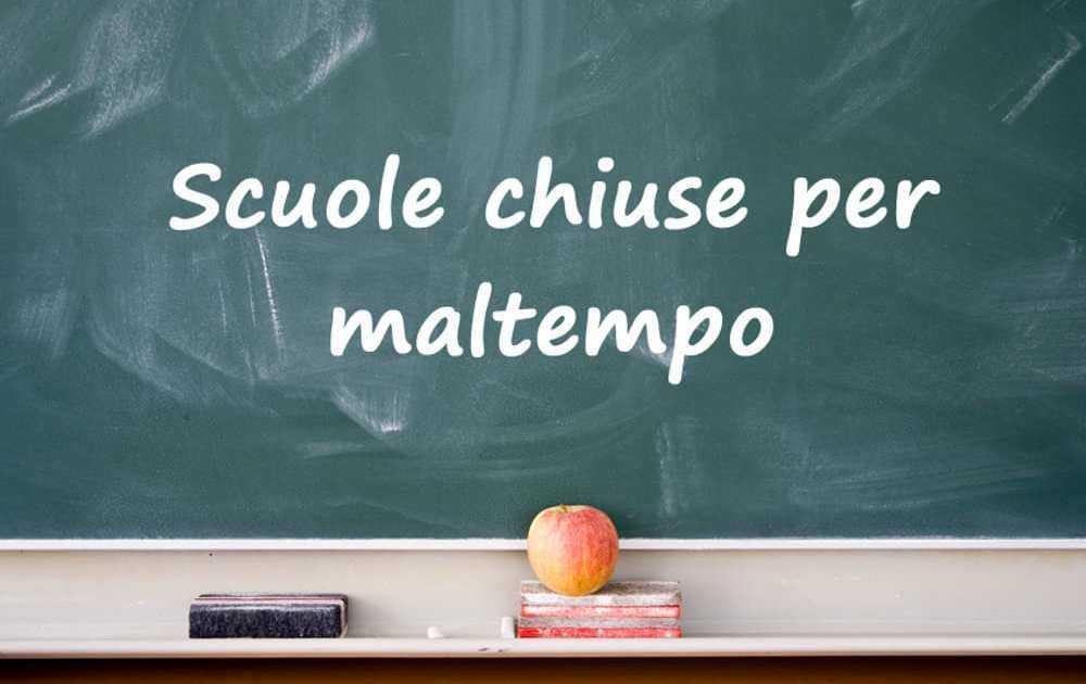 Maltempo, scuole chiuse anche a Tortoreto